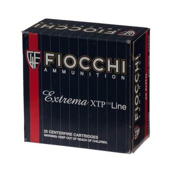Fiocchi Ammunition Centerfire Pistol, 45ACP, 230 Grain, XTP, 25 Round Box 45XTPB25, UPC :762344710570
