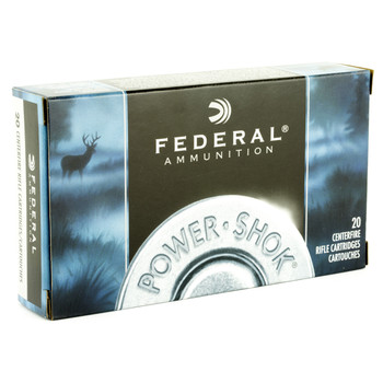 Federal PowerShok, 280REM, 150 Grain, Soft Point, 20 Round Box 280B, UPC : 029465085810
