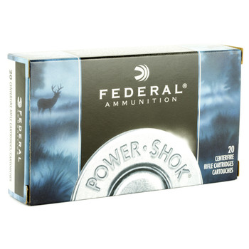 Federal PowerShok, 303 British, 150 Grain, Soft Point, 20 Round Box 303B, UPC : 029465085940