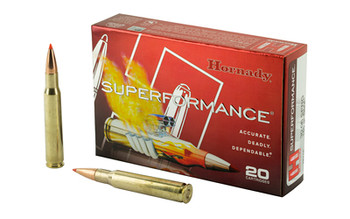 Hornady SuperFormance, 30-06, 165 Grain, GMX, Lead Free, 20 Round Box 8116, UPC : 090255381160