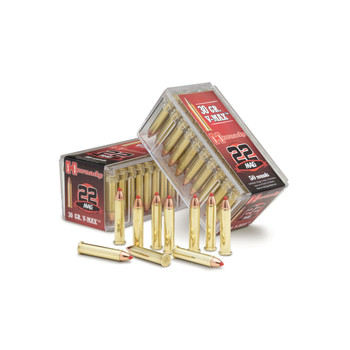 Hornady Hunting, 22WMR, 30 Grain, V-Max, 50 Round Box 83202, UPC : 090255832020