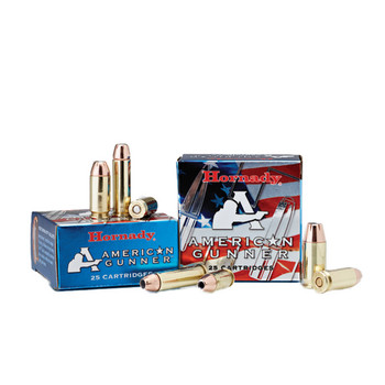 Hornady American Gunner, 9MM, 115 Grain, XTP, 25 Round Box 90244, UPC : 090255902440