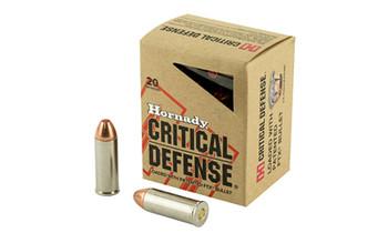 Hornady Critical Defense, 45LC, 185 Grain, FTX, 20 Round Box 92790, UPC : 090255927900