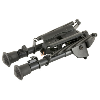 "Harris Engineering Bipod, Rotating, 6""-9"" Leg Notch, Black SBRM, UPC : 051156113090"