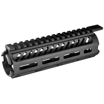 "Mission First Tactical Tekko, Drop-In M-LOK Rail System, Fits AR-15 Carbine, 7"" Length, Metal, Black Finish TMARCMRS, UPC :814002020870"