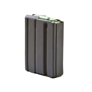 Ammunition Storage Components Magazine, 223 Rem, Fits AR-15, 10Rd, Aluminum, Gray 223-10RD-AL-G, UPC :818805011370