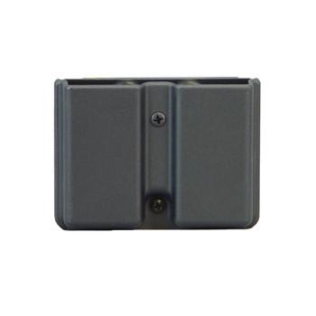 Uncle Mike's Kydex Belt Case, Fits Single Stack Double Magazine, Black 5137-1, UPC : 043699513710