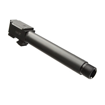 SilencerCo Threaded Barrel, 9MM, For Glock 34, Black, 1/2x28 TPI AC860, UPC :817272012040
