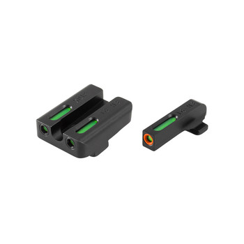 Truglo Brite-Site TFX Pro, Sight, Fits Springfield XD/XDM/XDS, Tritium/Fiber-Optic, Day/Night Sight, 24/7 Brightness, Orange Ring On Front Sight TG13XD1PC, UPC :788130022870