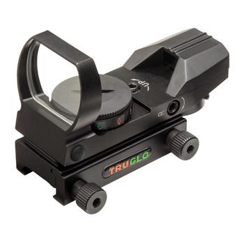 Truglo  Red Dot Scope, Black Finish, Multiple Reticle TG8360B, UPC :788130020180