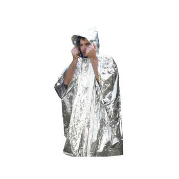 UST - Ultimate Survival Technologies Survival Poncho, Reflective 20-190-1000, UPC :812713015970
