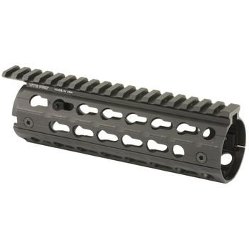 Leapers, Inc. - UTG UTG PRO Super Slim Drop in KeyMod Rail System, AR-15, Carbine Length, Black MTU001SSK, UPC :4717385552920