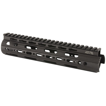 "Leapers, Inc. - UTG Rail System, 9"", for AR Rifles, Mid Length, Super Slim Free Float Handguard, Black Finish MTU004SS, UPC :4717385550100"