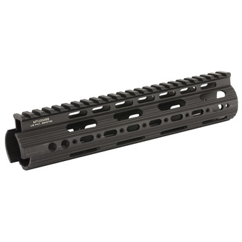 "Leapers, Inc. - UTG Rail System, 9"", for AR Rifles, Mid Length, Super Slim Free Float Handguard, Black Finish MTU004SS, UPC :4717385550100"