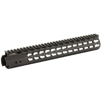 "Leapers, Inc. - UTG Handguard, Fits AR Rifles, 13"", Super Slim Free Float Keymod, Black MTU006SSK, UPC :4717385550360"
