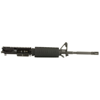 "Spike's Tactical Upper, Law Enforcement, 223 Rem/556NATO, 16"" Barrel, 1:7 Twist, Fits AR Rifles, Flat Top, Chrome Lined, A2 Front Sights, Black Finish STU5025-M4S, UPC :815648021030"