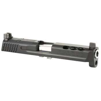 "Smith  Wesson MP Performance Center Slide Kit, Black Finish, 9mm, 4.25"" Ported Barrel, For MP Pistols with No Magazine Safety 11873, UPC : 022188870930"