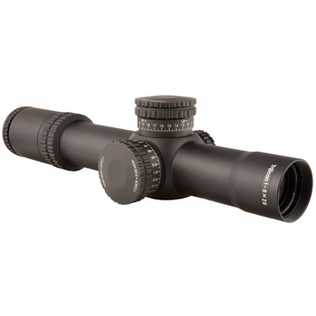 Trijicon AccuPower Rifle Scope, 1-8X28mm, 34mm, MOA Segmented-Circle Crosshair with Green LED, Matte Finish RS27-C-1900027, UPC :719307402430