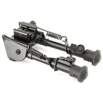 "Leapers, Inc. - UTG Tactical Op Bipod, Fits Picatinny Rail or Swivel Stud, 6.1"" - 7.9"", SWAT/ Combat Profile with Adjustable Height, Black TL-BP78, UPC :4712274525610"