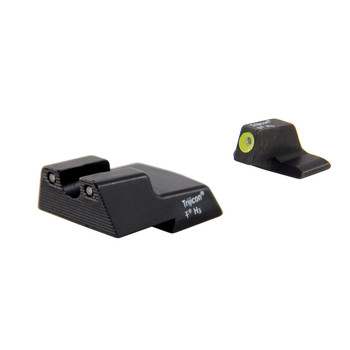 Trijicon HD Night Sights, Fits HK .45C, .45C Tactical, P30, P30L, and VP9 models, Yellow Front Outline, Front/Rear HK110Y, UPC :719307210660