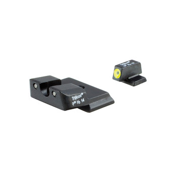 Trijicon HD Tritium Night Sight, Fits SW MP Shield, Yellow Outline SA139-C-600721, UPC :719307211940