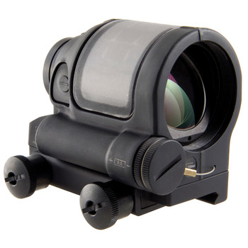 Trijicon SRS, Reflex Sight, 1.75MOA, Powered by a Solar Panel and Single AA-battery, Flattop Adapter, Matte Black Finish SRS01, UPC :719307630000