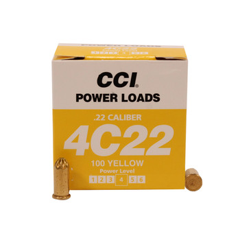 D.T. Systems .22 Cal Blank Power Loads-Yellow 70-100 Yards, UPC :712548881170