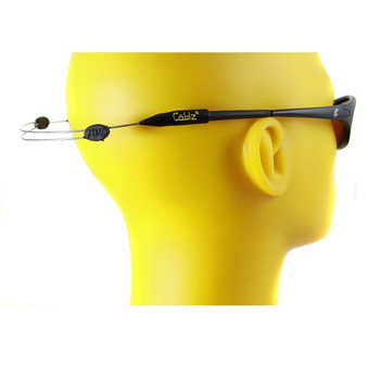 Cablz Zipz Adjustable Sunglasses Holder Clear/Stainless 14in, UPC : 013964254310