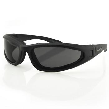 Bobster Low Rider II Convertible-Black Frame-3 Lenses, UPC :642608029580
