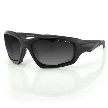 Bobster Desperado Sunglass-Black Frame-Anti-fog Smoked Lens, UPC :642608042640