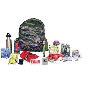 Ready America Deluxe Outdoor Survival Kit  4-Person, UPC :753962703150