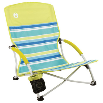 Coleman Beach Deluxe Low Sling Chair Citrus, UPC : 076501155020
