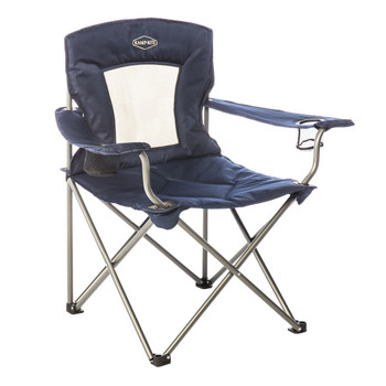 Kamp-Rite Padded Chair with Mesh Back, UPC : 095873003050