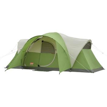 Coleman Montana 8 Tent 16x7 Foot Green/Tan/Grey  2000027941, UPC : 076501021790