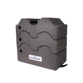 Benchmaster Weapon Rack - Adjustable Shooting Rest - 3 piece, UPC :751710506770