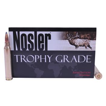Nosler Trophy Grade Ammunition 7mm STW 140 Grain Partition Box of 20, UPC : 054041600460