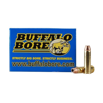 Buffalo Bore Ammunition 357 Magnum 140 Grain Jacketed Hollow Point Box of 20, UPC :651815019260