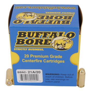 Buffalo Bore Ammunition 10mm Auto 200 Grain Full Metal Jacket Box of 20, UPC :651815021010