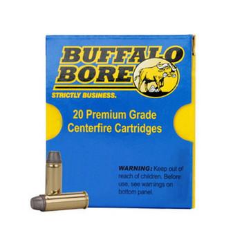 Buffalo Bore Ammunition 45 Colt (Long Colt) 225 Grain Soft Cast Hollow Point Anti-Personnel Box of 20, UPC :651815003290