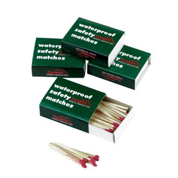 CASE OF 24 MATCHES - WATERPROOF - SLIDE BOX, UPC : 049794150690