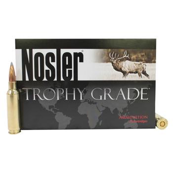 Nosler Trophy Grade Ammunition 6.5 Creedmoor 129 Grain Accubond Long Range Box of 20, UPC : 054041600910