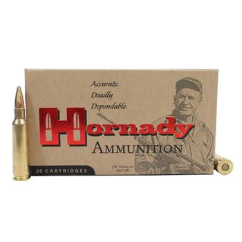 Hornady Custom Ammunition 250 Savage 100 Grain Interlock Spire Point Box of 20, UPC : 090255381320