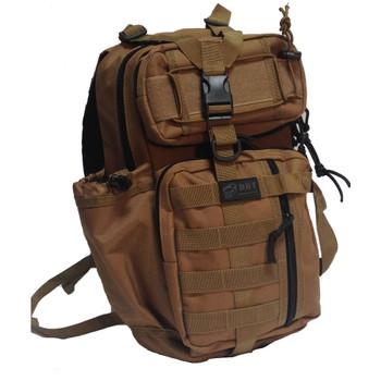ASSASSIN SHOULDER SLING BAG - TAN, UPC :616086525940