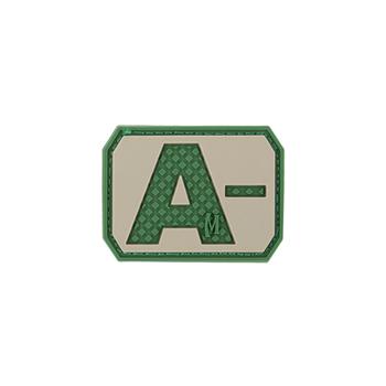 A- NEG Blood Type Patch, UPC :846909013150