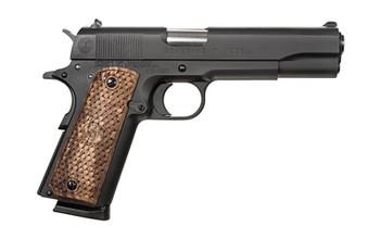 "American Classic 1911, Full Size, 9MM,  5"" Barrel, Steel Blue Finish, Wood Grips, 3 Dot Sight, 1 Magazine, 9 Rounds AC9G2B, UPC :728028236545"