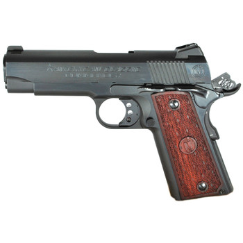 "American Classic 1911, Commander, 45ACP, 4.25"" Barrel, Blue Finish, Wood Grips, 3 Dot Sights, 1 Magazine, 8 Rounds ACC45B, UPC : 094922351975"