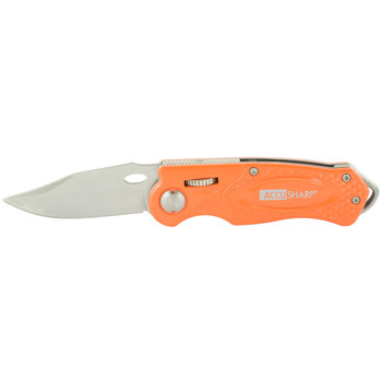 AccuSharp Sport Folding Knife, Orange 709C, UPC : 015896007095