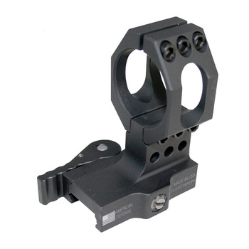 American Defense Mfg. Mount, Fits Aimpoint, Picatinny, Quick Release, High Height, Black 68H, UPC :818503010125