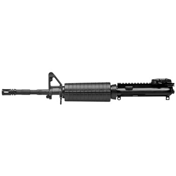 "Colt's Manufacturing Upper, Fits AR, 223 Rem/556NATO, 14.5"" Chrome Lined Barrel, 1:7 RH Twist, Magpul Flip-Up Rear Sight, M4 Contour Barrel, Standard Sling Swivel, Bolt Carrier Assembly and Charging Handle, Black Finish, Not Pinned and Welded LE6921C"