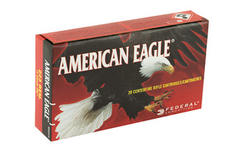 Federal American Eagle, 223 Rem, 75Gr Total Metal Jacket, 20 Round Box AE223T75, UPC :604544625615